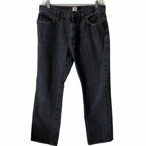 J Crew Vintage Slim Straight Mens Black Jean 36x30